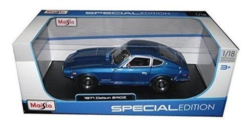 vehículos fundidos a troquel1971 datsun 240z azul 118 por..