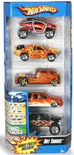 vehículos fundidos a troquelhot wheels 5 coches paquete d..