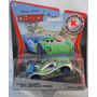 Disney Pixar Cars 2 Auto Modelo Carla Veloso Matallic Finish