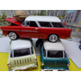 Chevrolet 1957 Estacion Wagon Metalico 1/24