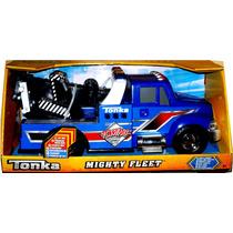 Camión Grua Tonka Mighty Fleet Con Luces Y Sonidos - Vlf