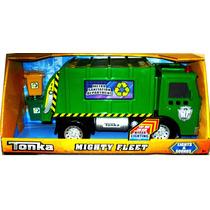 Camión Recolector Tonka Mighty Fleet - Luces Y Sonidos - Vlf
