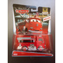 Disney Pixar Cars 2015 Red Deluxe Oversized #7/19