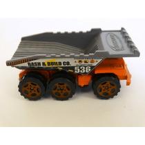 Matchbox Mattel Camión Volteo Dump Truck Escala 1/64 Nuevo