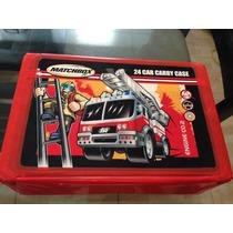 Maleta Matchbox Original Usa Años 90 Cesta Capacidad 24autos