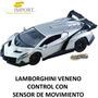 Carro Deportivo A Control Remoto Lamborghini Veneno 1:16