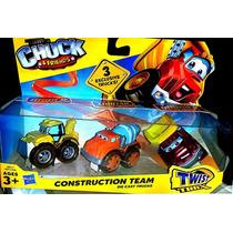 Tonka Chuck & Friends 3 Figuras Playskool Original