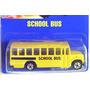 Bus Escolar Hot Weels Metal Año 1990 Antiguo Sellado 8 Cms.