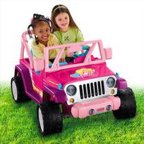 Power Wheels® Barbie Jammin Jeep® Wrangler