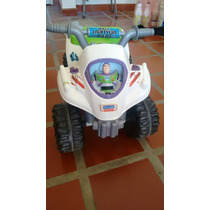 Moto Electrica Fisher Price Buzz Lightyear Usada