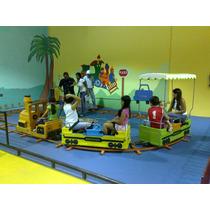 Tren Mecanico Infantil De Ferias