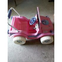 Carro Barbie Electrico Para Niña