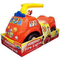 Carrito Montable Mickey Mouse Fire Engine Nuevo A Estrenar