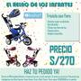 Nuevo Triciclo Super Practico Y Recomendable (1+)