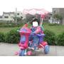 Triciclo Infanti Modelo Princesitas Disney