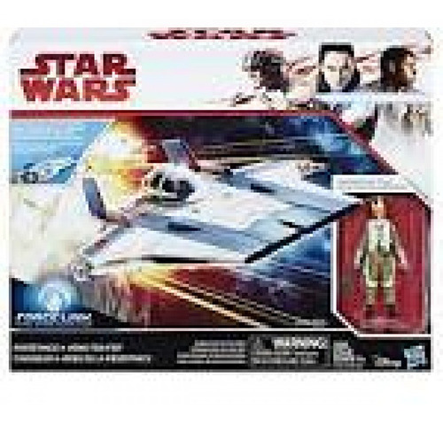 veiculo c/figura star wars ep8 force link classe b