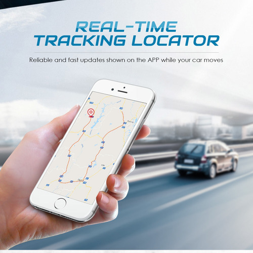 veículo gps rastreador anti -theft alarme mini real -time ra