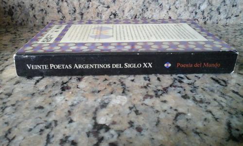 veinte poetas argentinos siglo xx  antología