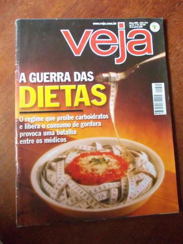 veja - a guerra das dietas/ thomas skidmore