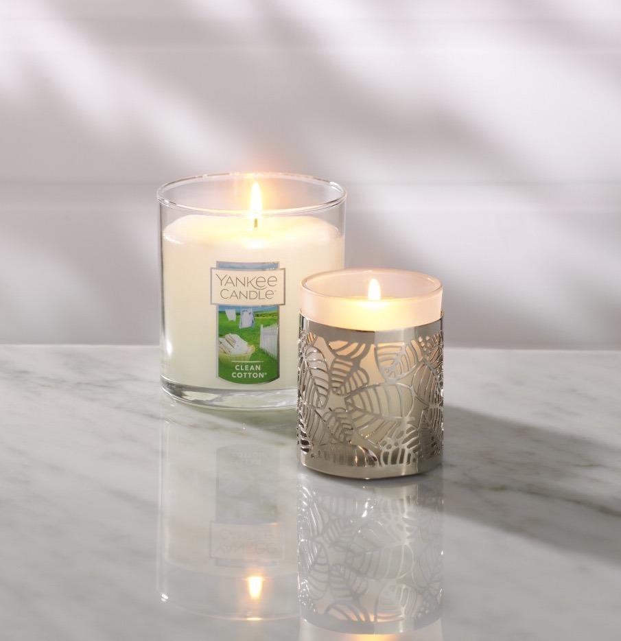 Vela Aromatica Yankee Candle Aroma Limon Fresco Floral 198gr