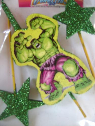 vela cumpleaños de hulk