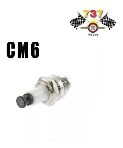 vela de ignição  cm6 para aeromodelos e automodelos