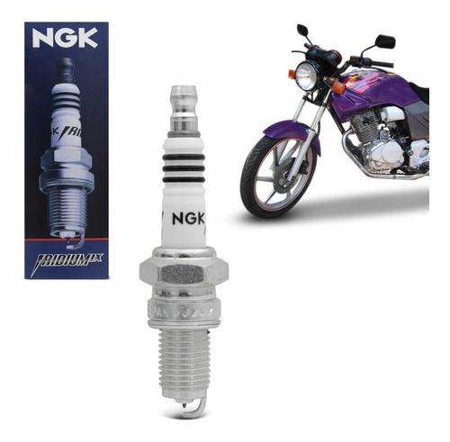 vela de ignição iridium ngk cbx 200 strada 93 a 03 dpr8eix-9