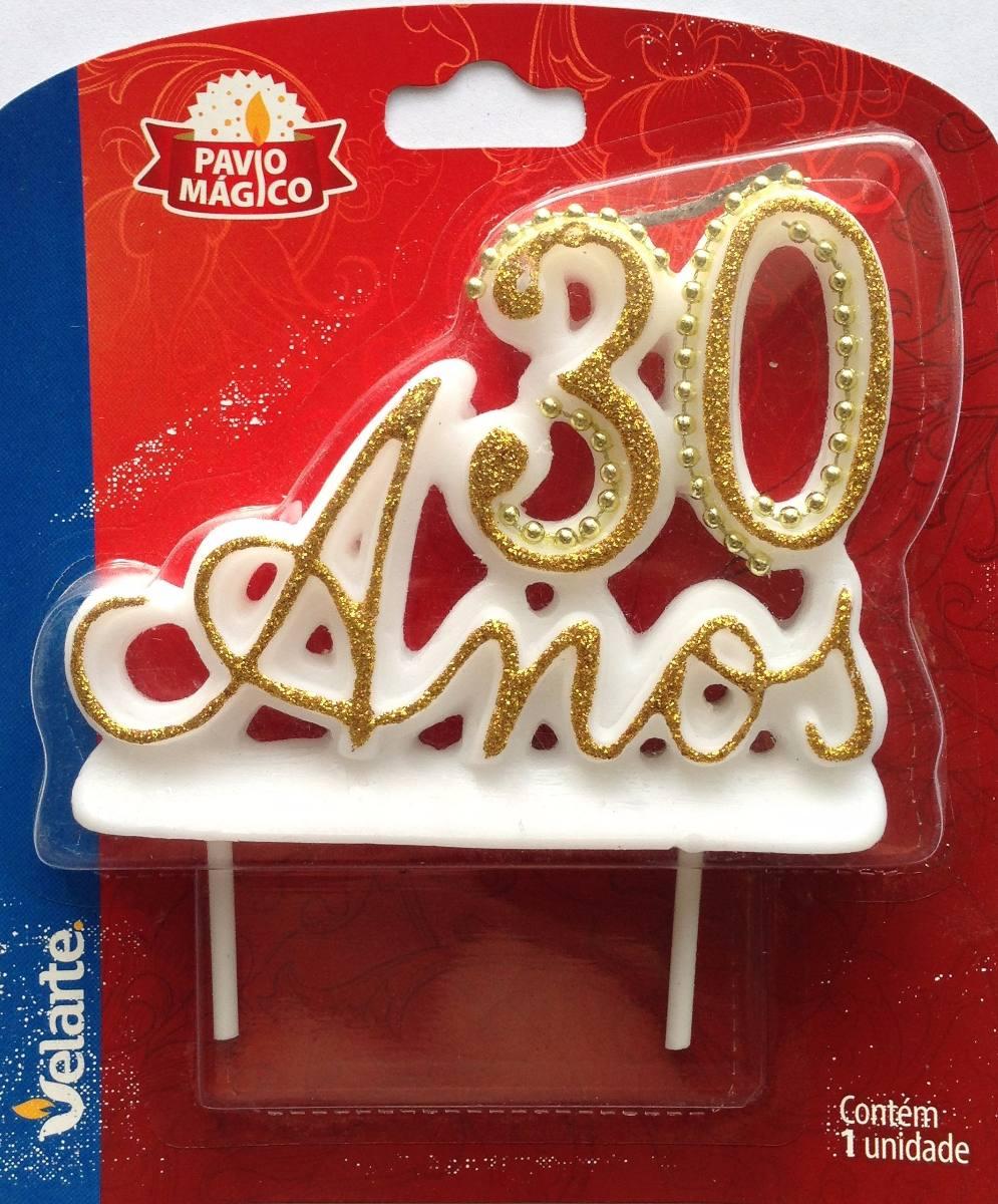 Vela especial para festa e bolo de aniversrio de 30 anos r 2790 bolo de aniversrio de 30 anos carregando zoom altavistaventures Gallery