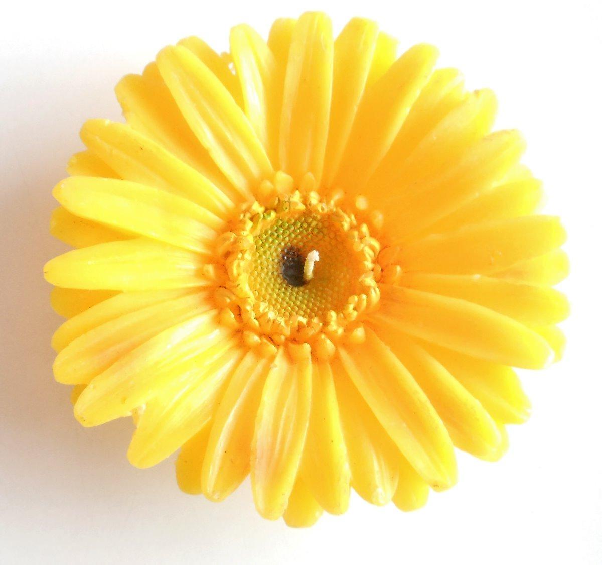 vela flor gerbera bs 200 00 en mercado libre
