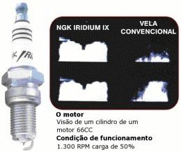 vela iridium aprilia rx 50 90/.. alta performance ngk br9eix