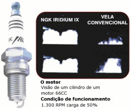vela iridium hornet todas alta performance ngk cr9ehix9
