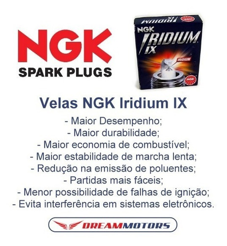 vela iridium ix ngk cpr8eaix-9 transalp cb500f cb500x cbr500