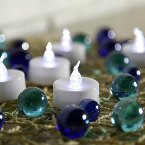 vela led decorativa