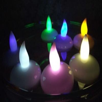 vela led - hermosos colores para cotillon, decoración