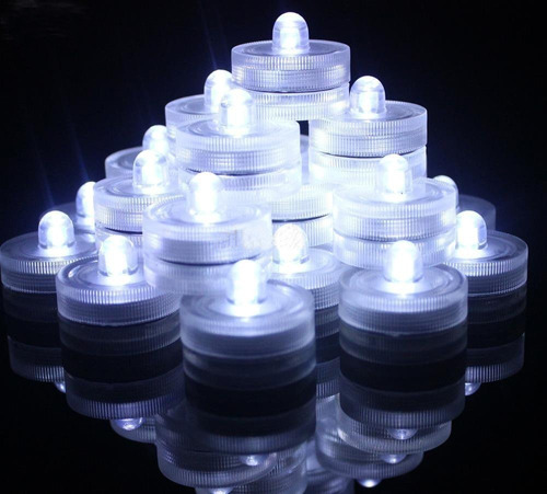 vela led sumergible luz arreglos centros mesa fiesta boda