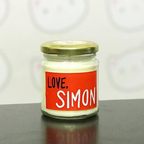 vela literaria love, simon - kawaii atelier