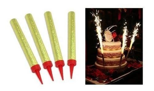 vela pastel pq/100  magica de cumpleaños  chispero, bengala