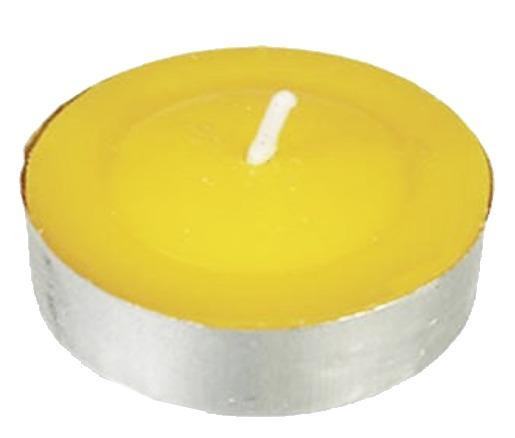 Vela tea light citronela anti mosquitos aromaticas for Velas anti mosquitos