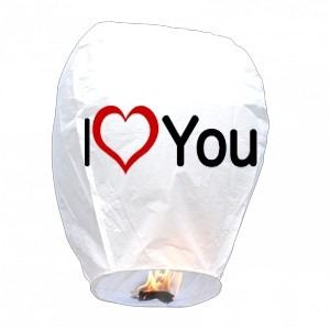 vela voladora, globo de cantoya, lámpara china, blanco nvb