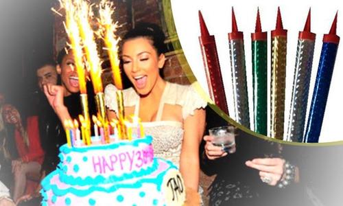 vela volcan magica cumpleaños fiesta fuego vengala