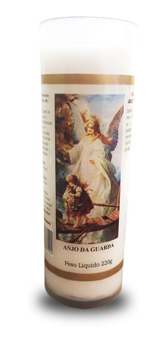 vela votiva 7 dias imagem anjo da guarda anjo de guarda