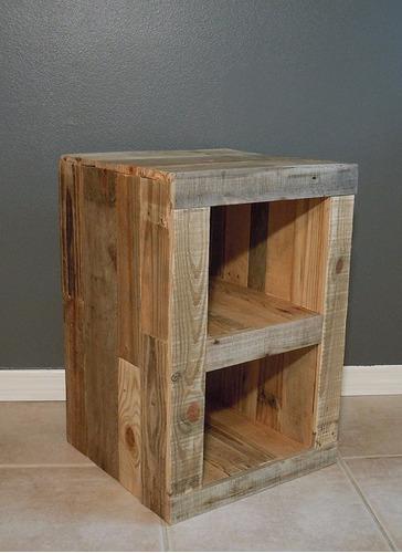 velador bardo 45x60x33 madera reciclada pantano pallet
