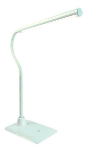 velador brazo flexible mesa 5w blanco luz movil cuotas