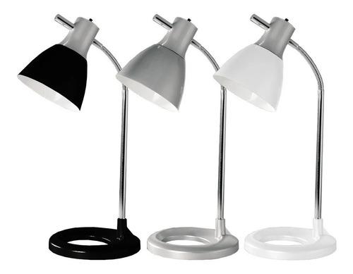 velador bri blanco lampara de mesa escritorio led diseño