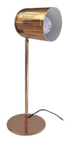 velador cobre cabezal deco moderno bala escritorio cuotas