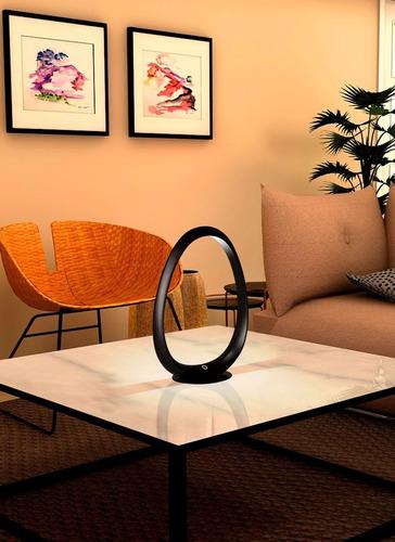 velador gante blanco lampara de mesa escritorio led diseño