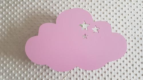 velador infantil nube