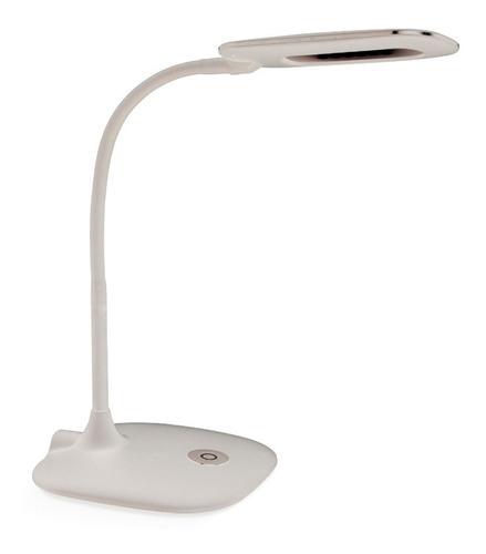 velador lampara de mesa escritorio neron blanco 4w  led