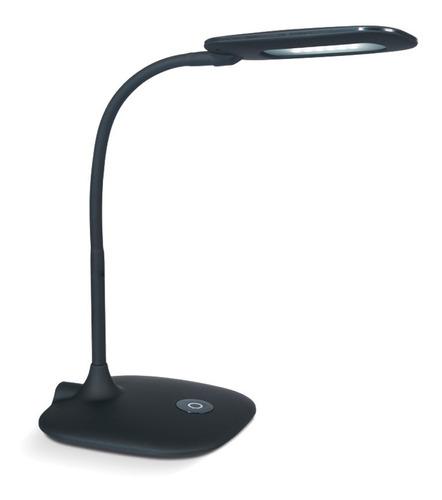 velador lampara de mesa escritorio neron negro 4w  led