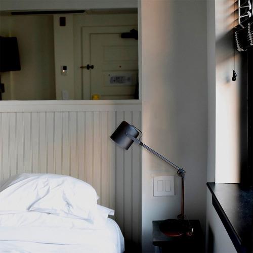 velador lampara vintage tacho negro mov cuotas